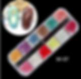 12pcs Nail Art Jewelry M-07