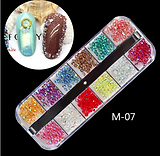 12pcs Nail Art Jewelry M-07