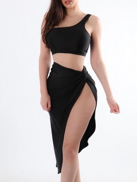 """Tiana"" two piece skirt set"