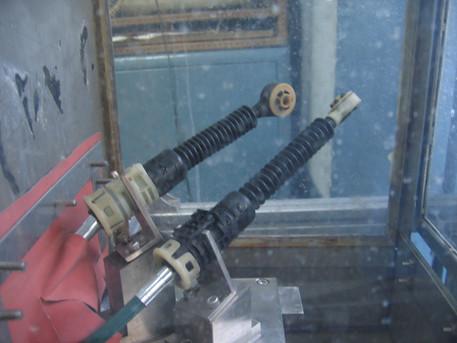 Gear Shifter Muddy Water Test - 0941