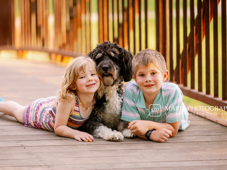 Shawnee Mission Park Family Session