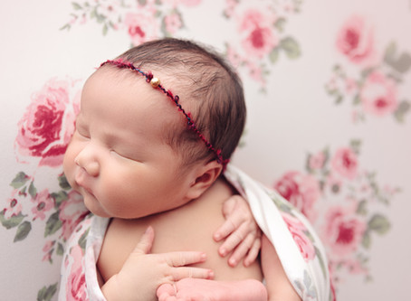 Baby girl newborn