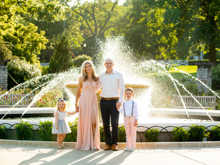 Loose Park family session