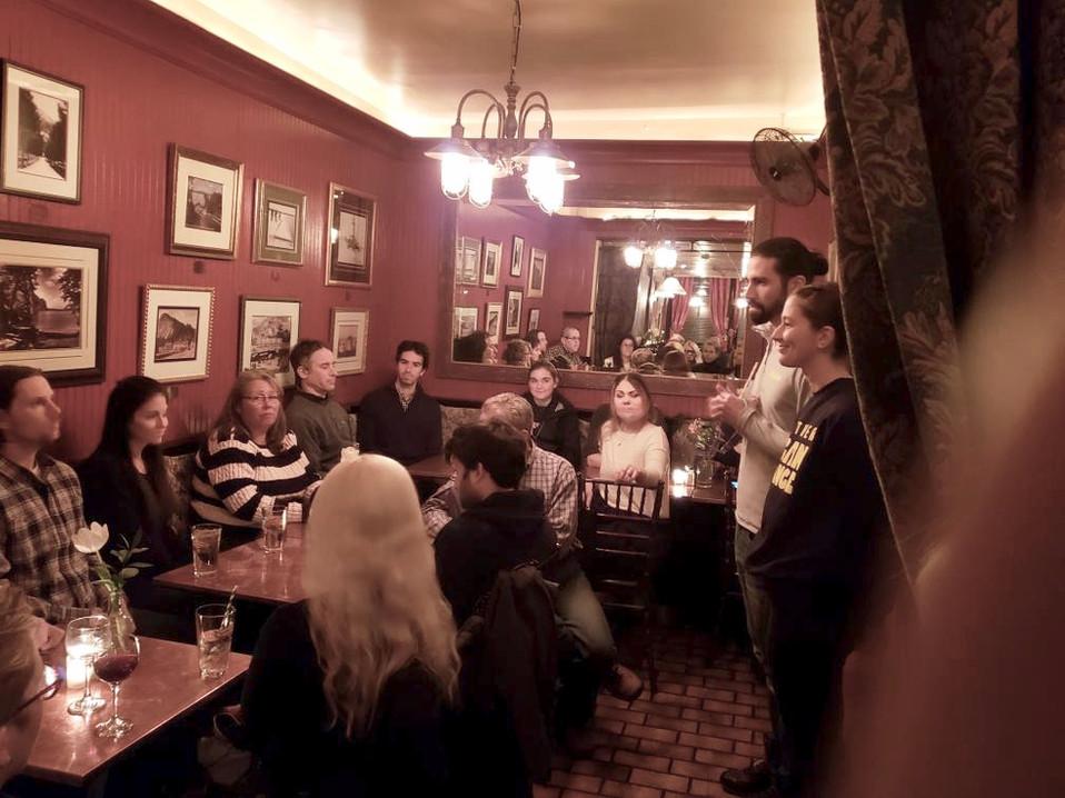 Meet-Up at OD's Tavern, Nyack, NY