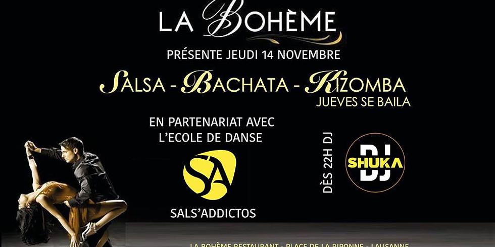 JUEVES SE BAILA @ LA BOHEME / LAUSANNE