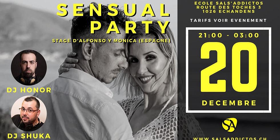 Sensual Party avec guest « Alfonso y Monica / DJ Honor» Spain