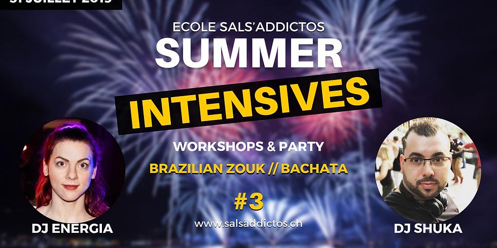 Summer Intensives Workshops & Parties by Sals'Addictos #3 Fête Nationale !