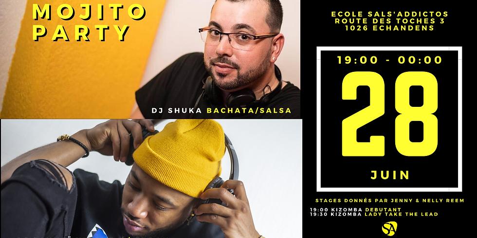 Mojito Party avec DJ Jahnaï & DJ Shuka / 2 Stages Kizomba