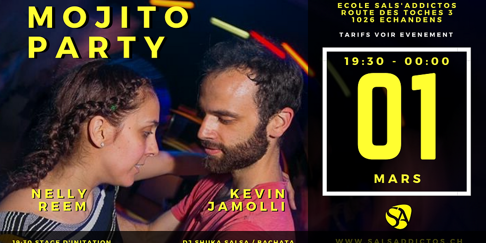 Mojito Party SBKZ + Stage avec Nelly Reem & Kevin