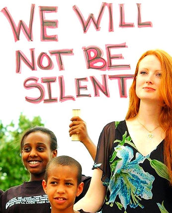 Elizabeth Kucinich, Kucinich, we will not be silent