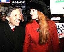 Elizabeth Kucinich & Dennis Kucinich Presidential Campaign 2008
