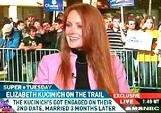 Elizabeth Kucinich MSNBC 2008 Presidential Campaign Kucinich for President