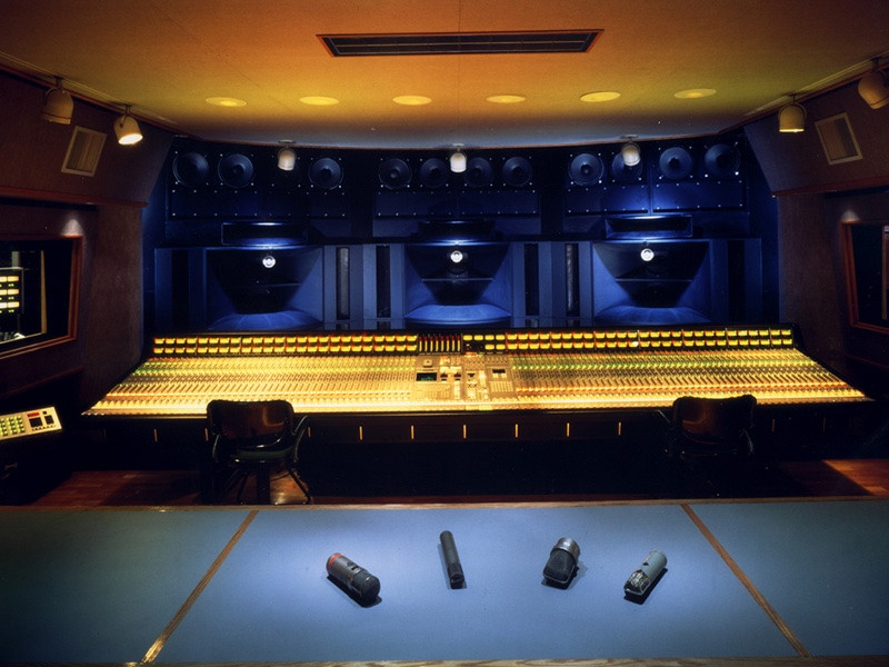 Record One Studio A - Los Angeles, CA OWA HR-1 system.