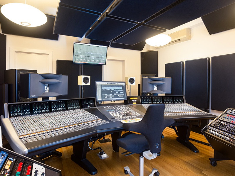 Precision Sound - New York City - OWA HR4(S) monitor systems.