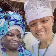 with Dr. Deborah Bernal/Mama Eshe