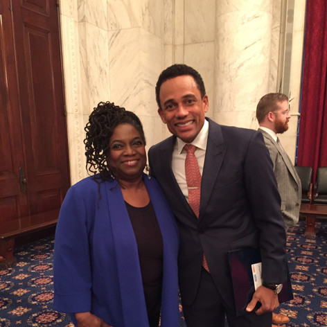 with Hill Harper