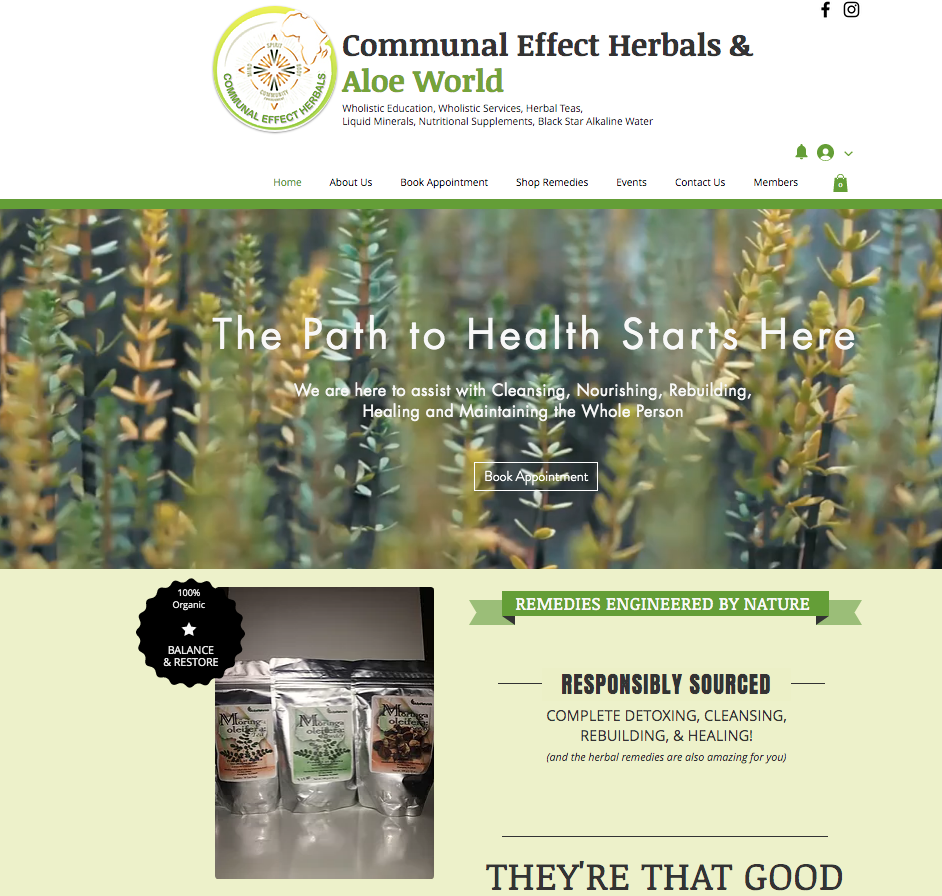 Communal Effect Herbals & Aloe World