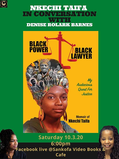 Nkechi and Sankofa Books Event Oct3rd202