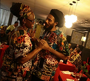 Afrikan-centered Couple at a Black Love Day Celebration