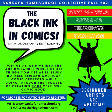 The Black Ink in Comics - Fall 2021