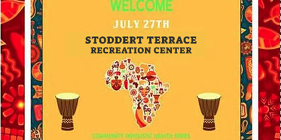 Pop-Up Wholistic Health Workshop: Diabetes  - $10 Donation/FREE for residents of Stoddert Terrace