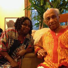 with Baba Acklyn Lynch