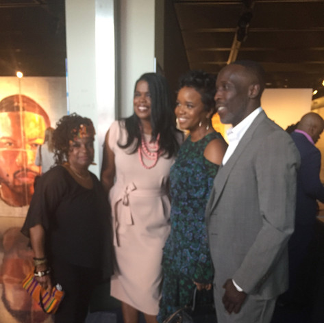 States Atty Kim Fox, Brittney Packnett, Michael K. Williams