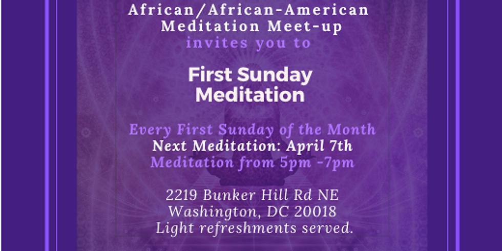 First Sunday Meditation