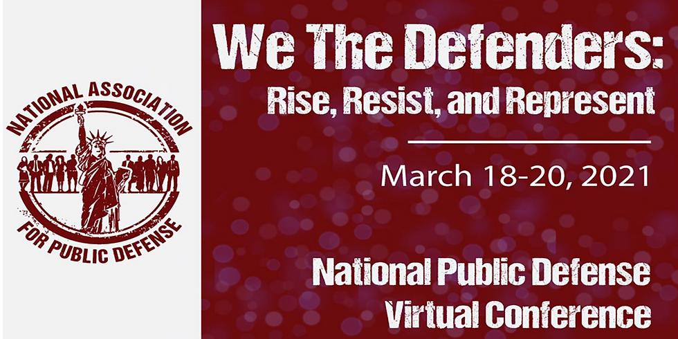 National Association for Public Defense Conference