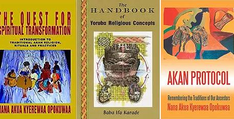 African Spirituality 101 -Book List