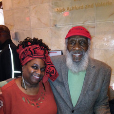 with Baba Dick Gregory