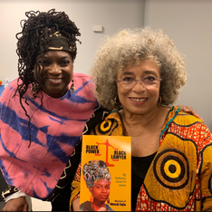 Angela Davis is excited about my upcoming book!