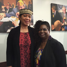 with Attallah Shabazz