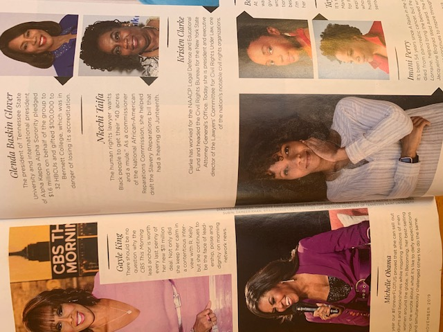 Essence Magazine Inside November 2019