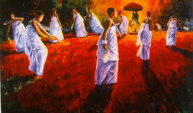 Dance of the Akomfo by Kofi Tyus