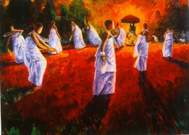 Dance of the Akomfo by Kofi Tyus