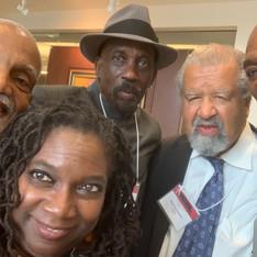 with Atttorneys John Brittain, Lennox Hinds, Henry Richardson & Wade Henderson