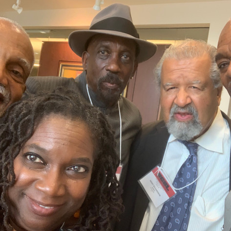 with Atttorneys John Brittain, Lennox Hinds, Henry Richardson & Wade Henderson