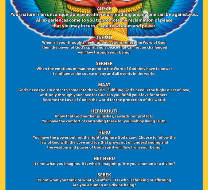 11 Laws of God
