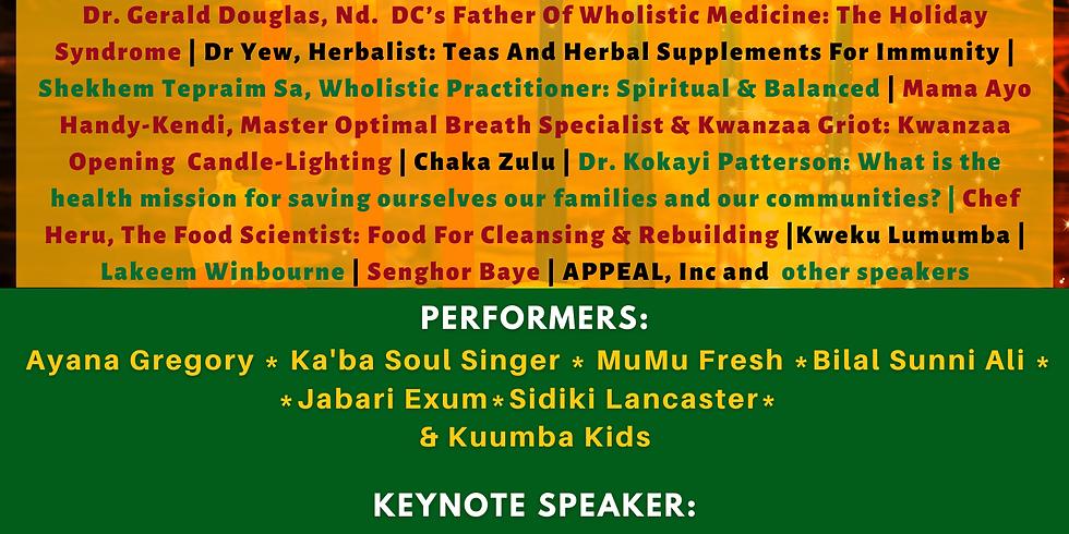 "AWHA Inc., ADS Collective, & CHI, Inc. presents KWANZAA 2020 Kuumba ""Creativity"""
