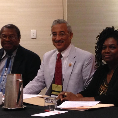 with Congressman Bobby Scott