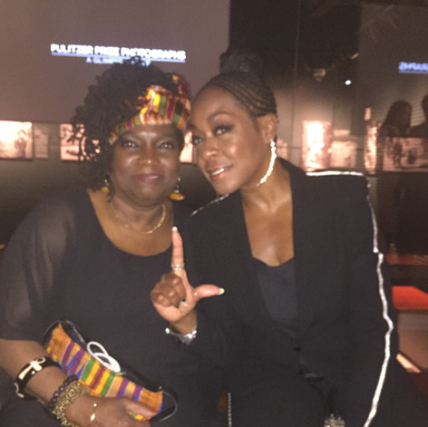 with Tchina Arnold