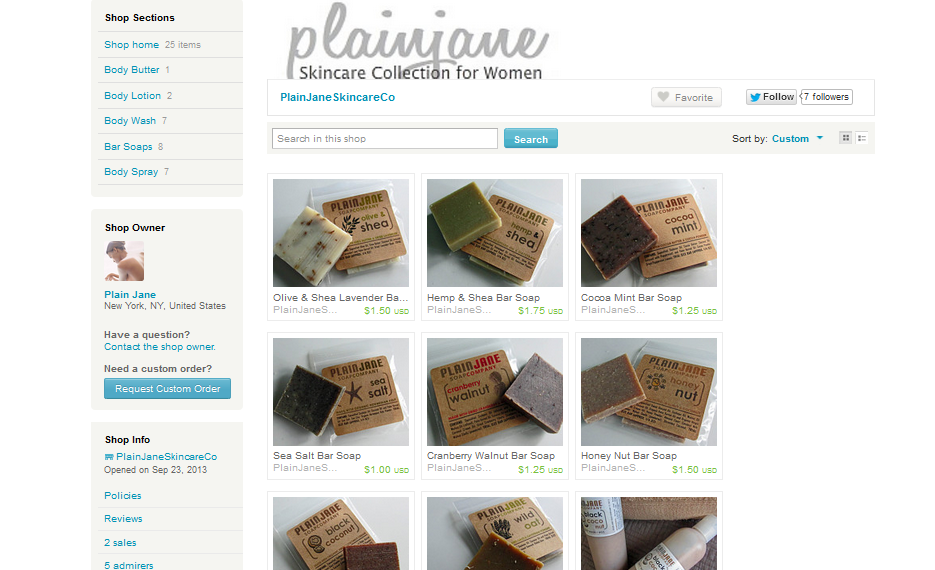 Plain Jane Soap Co.
