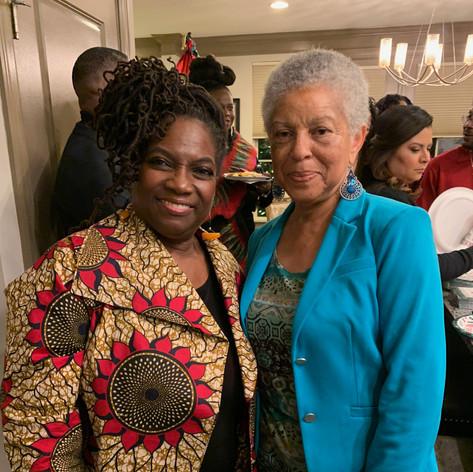 with Johnita Obadele