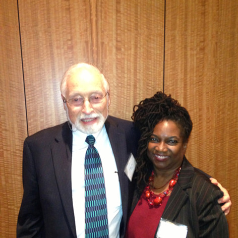 with Professor Edgar Cahn