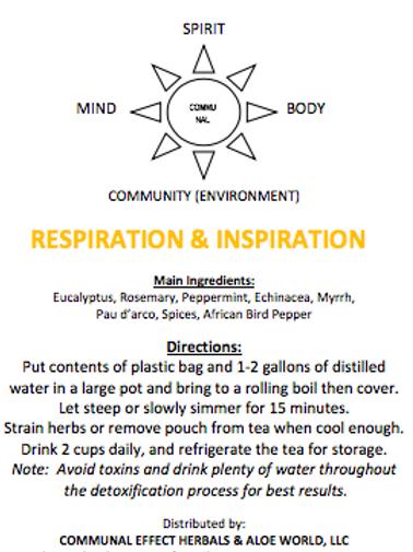 Respiration & Inspiration(Lung)