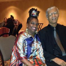 with former Mayor Chokwe Lumumba