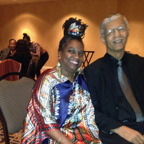 with former Mayor Chokwe Lumumba