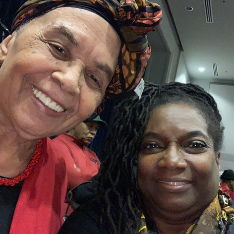 with civil rights icon Dorie Ladner