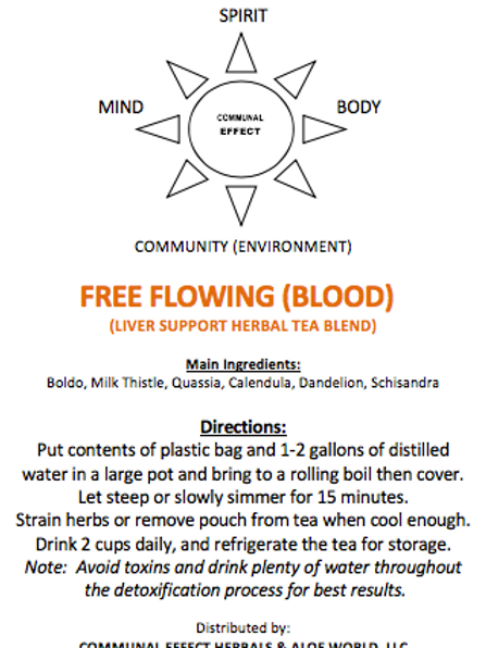 Free Flowing Blood(Liver)